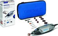 MULTIUTENSILE DREMEL 3000 velocità variabile 130W con valigetta + 15 accessori