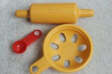 Little TIKES Kitchen BAKING PLAY FOOD ACCESSORIES - ROLLING PIN, STRAINER etc.