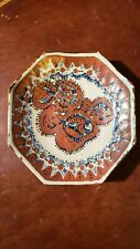Antique Persia dynasty octagonal  imari style plate for Middle eastern  market