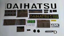 DAIHATSU F20 TAFT WILDCAT DECALS (4 speed shift plate)
