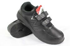 New Balance Men's 813 Hook & Loop Classic Walking Sneakers 11.5 2E Black