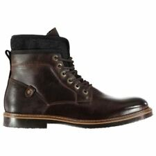 Suede Military Boots for Men