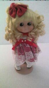 """Goebel Dolly Dingle Vinyl 9"""" Doll """"Ruby Blake"""" Designed by Karen Kennedy"""
