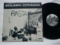 BENJAMIN ZEPHANIAH - RASTA, RARE YUGOSLAVIAN LP, REGGAE