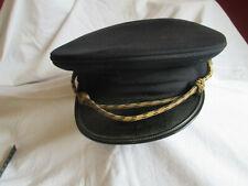 Alte Marine Mütze Schirmmütze höherer Rang - vor 1945 - sehr selten - Deutsch