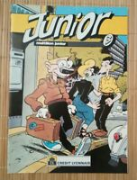 Brochure publicitaire Junior CL Ben Radis Druillet Forest Simon Tintin Liberator