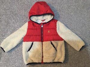 Baby Gap Sherpa Fleece & Padded Jacket 18-24 Months