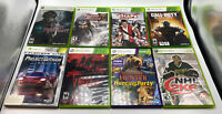 Lot Of 8 Xbox 360 Pre Owned Games Call Of Duty Dynasty Warriors 7 Escape