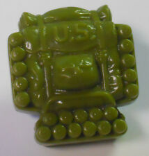 VINTAGE! 1988 Hasbro GI Joe Replacement Parts-Hardball Backpack-Green