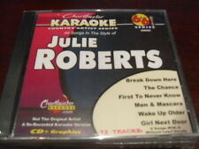 CHARTBUSTER 6+6 KARAOKE DISC 20605 JULIE ROBERTS CD+G COUNTRY MULTIPLEX