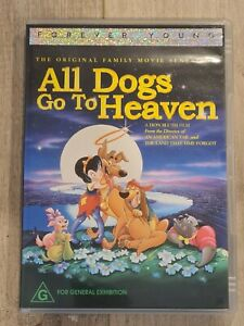 All Dogs Go To Heaven - DVD - Region 4 - FAST POST