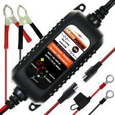 MOTOPOWER MP00205A 12V 800mA Fully Automatic Battery Charger/Maintainer for RVs,