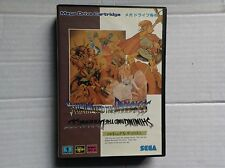 Sega Mega Megadrive Vtg Game #retrogaming Shining In The Darkness  Japan Ntsc J