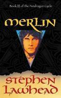 """VERY GOOD"" Merlin: Book II of the Pendragon Cycle, Lawhead, Stephen, Book"