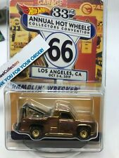#2598 Ramblin Wrecker Dinner Car * Hot Wheels 33rd Collectors Convention