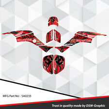 Racing Honda TRX 400 EX Graphic Kit Wrap Quad Decal ATV 1999-2004 SA0233
