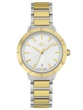 Genuine Mercedes Benz Watch, Women, Classy Punk Mark 2 silver/gold, B66953059