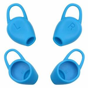 2 pairs of Plantronics BackBeat FIT Earplugs Kit Ear Gel in BLUE Color 202121-01