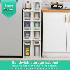 Narrow Storage Cabinet Drawer Storage Organiser Plastic level Box Cabinet
