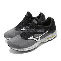Mizuno Wave Rider 23 Grey Black White Gold Mens Running Shoes J1GC1903-72