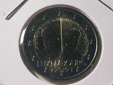 Pièces euro du Luxembourg pour 2 Euro Année 2019
