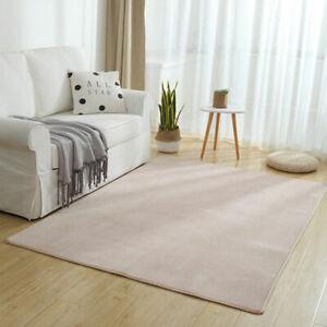 Thicken Non-slip Coral Velvet Floor Fleece Rug Mats Doormat Water Absorption