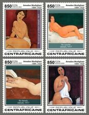 Central Africa 2020  Amedeo Modigliani ,nude paintings  S202003