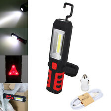 3W COB LED Magnetic Work Light Car Garage Mechanic Home Rechargeable Torch Lamp