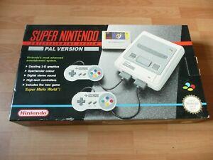 Original Super Nintendo SNES Box only Excellent Condition