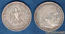 Allemagne – 5 Reichsmark 1935 D  – German