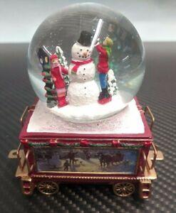 Bradford Exchange Thomas Kinkade Winter Wonderland Express Snow Globe Train