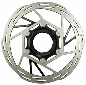SRAM Paceline Disc Brake Rotor, 140mm, CenterLock, Silver/Black