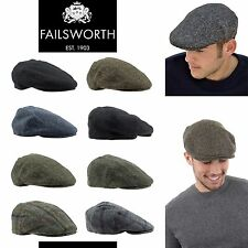 bbc13606ffd Failsworth Hat Genuine Harris Tweed Failsworth Stornway Hats Flat Cap