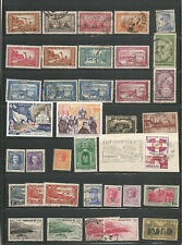 MONACO STAMPS FROM AN OLD ALBUM M/MINT MNH USED