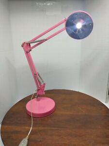 Hwa Feng Lighting Pink Adjustable LED Desk Lamp Model No....
