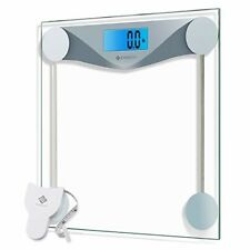 Digital Body Weight Bathroom Scale With Body Tape Measure 400 Pounds Scales