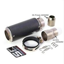 36-51mm 61mm SC GP Escape Exhaust Pipe Muffler FOR BMW R1100RT 1996-2001 R1100S