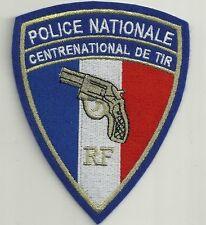 France police nationale centre national de tir! rf bac swat police patch