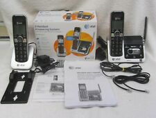 AT&T CRL82212 Cordless Home Phone Answering System 2 Handset ATT