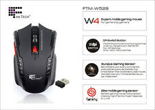 New 2.4Ghz Mini High Speed portable Wireless Optical Gaming Mouse Mice For PC Y2