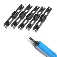 5 PACK Tools Part Blade for 110/88 Punch Down Impact Tools Patch Panel Wire Cut