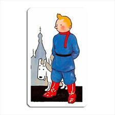 Cute Tin Tin Fridge / Toolbox Magnet - movie tintin russia cartoon