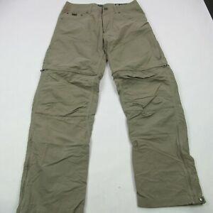 Kuhl Hiking Pants Women's Size 16S Brown Hiking Outdoor Convertible Shorts