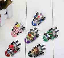 Lote 6 figuras SUPER MARIO KART figure figur Nintendo 3ds juguete niños