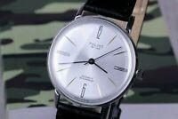 Wrist Watch POLJOT De LUXE, Ultra Slim Watch, Soviet Watch