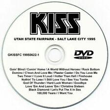 KISS @LIVE UTAH '95 DVD9 RARE Paul Stanley/Gene Simmons/Bruce Kulick/Eric Singer