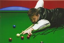 (3) A 6 x 4 inch photo. Personally signed by Snooker player Ryan Day.