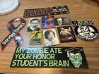 horror magnet and sticker lot