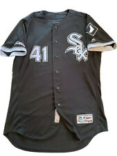 MLB Authenticated - Kelvin Herrera BALKED In This White Sox Game-Used Jersey!!