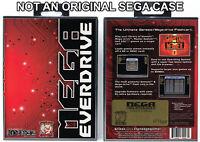 Mega Everdrive - Sega Genesis Custom Case *NO GAME*